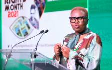 Social Development Minister Lindiwe Zulu leads a national roundtable webinar on child killings, abuse and rape on 26 March 2021. Picture: @The_DSD/Twitter