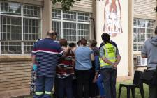 Hoërskool Driehoek in Vanderbijlpark will re-open on Monday following preliminary investigations into the walkway collapse that claimed 4 lives and injured 23 others. Picture: Christa Eybers/EWN