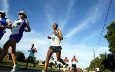 FILE: Athletes participate in the Soweto Marathon on 5 November 2006. Picture: Werner Beukes/SAPA