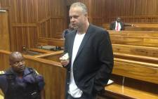 Czech fugite Radovan Krejcir takes a break during a court appearance at the Johannesburg High Court. Picture: EWN.