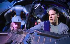 Ben Affleck gave some visitors to the warner brothers studio tour in Hollywood a surprise in the name of charity. Picture: Screengrab/CNN