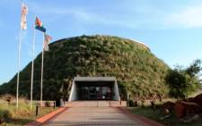 Entrance to the Maropeng Visitors' Centre. Picture: Maropeng.