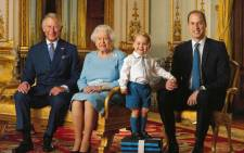 A family portrait to mark Queen Elizabeth II's 90th birthday. Picture: Twitter @KensingtonRoyal.