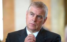 Britain's Prince Andrew. Picture: AFP.