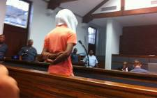 One of the suspects arrested in connection with her brutal rape and murder of Anene Booysen. Picture: Chanel September/EWN