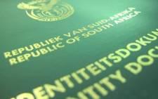 FILE: South African identity document. Picture: Aletta Gardner/EWN