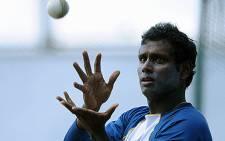 Sri Lankan captain Angelo Mathews. Picture: AFP