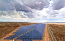 The solar power plant in De Aar. Picture: deaarsolar.co.za.