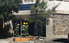 Violent protests erupted at a student residence close to Cape Peninsula University of Technology's (CPUT) Cape Town campus on 9 October 2017. Picture: Kevin Brandt/EWN