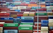The Cape Chamber of Commerce and Industry on Tuesday says it's shocked by a sudden increase in container cargo duties. Picture: AFP.