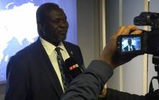 Former Vice President of South Sudan Riek Machar. Picture: Vumani Mkhize/EWN.