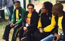 ANC Deputy Secretary General Jessie Duarte in Joubert Park, Johannesburg. Picture: Ziyanda Ngcobo/EWN