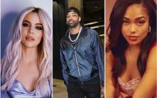 Khloe Kardashian (right) has seemingly confirmed rumours of her boyfriend Tristan Thompson being unfaithful with Jordyn Woods (left). Picture: EWN/instagram.com