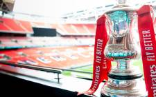 The FA Cup trophy. Picture: @EmiratesFACup/Twitter