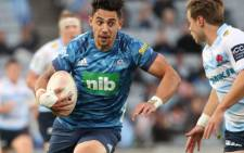 The Auckland Blues Bryce Heem during the Super Rugby match against the NSW Waratahs on Saturday, 22 May 2021. Picture: Super Rugby/@SuperRugbyNZ