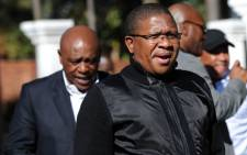 Sport and Recreation Minister Fikile Mbalula. Picture: SAPA