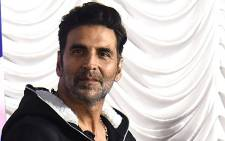 In this file photo taken on January 02, 2021 Bollywood actor Akshay Kumar attends the launch of Segways, Mumbai's police two-wheeled self-balancing scooter, in Mumbai. Picture: Sujit Jaiswal / AFP.
