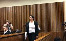 FILE: Convicted racist Vicki Momberg appearing in the Randburg magistrates court. Picture: Mia Lindeque/EWN