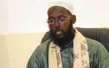 Former al-Shabaab leader Mukhtar Robow. Picture: @sheikhmukhtar.robow.75/Facebook.com.