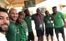 Members of Bafana Bafana. Picture: @BafanaBafana/Twitter