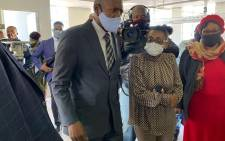 Health Minister Dr Zweli Mkhize inspected the renovations of the high care unit at Butterworth Hospital  on 11 June 2020 as part of the government's assessment of provincial government's response to the coronavirus pandemic in South Africa. Picture: @DrZweliMkhize/Twitter