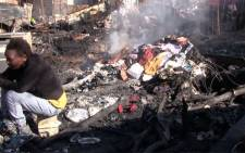 Johannesburg Emergency Management Services (EMS) says the number of people who have died from shack fires in Gauteng this winter is significantly lower than last year. Picture:Christa van der Walt/EWN.
