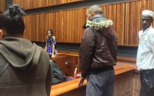 The murder trial of four people accused of killing Johannesburg teenager Kirsty Theologo in an apparent satanic ritual in the Palm Ridge Magistrates Court on 9 October 2013. Picture: Govan Whittles/EWN