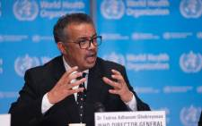 World Health Organization (WHO) director-general Tedros Adhanom Ghebreyesus. Picture: @WHO/Twitter