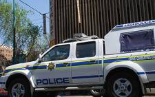 A patrol vehicle of the South African Police Service. Picture: Taurai Maduna/Eyewitness News