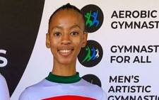 Kamogelo Mokeke earned a silver medal at the SA Gym Games. Picture: Gymnastics South Africa/ Facebook.