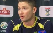 Australian captain Michael Clarke. Picture: Alicia Pillay/EWN