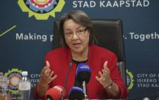 FILE: Mayor of Cape Town Patricia de Lille. Picture: Cindy Archillies/EWN.