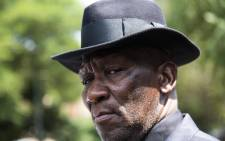 FILE: Police Minister Bheki Cele outside after Thoriso Themane's funeral. Picture: Kayleen Morgan/EWN