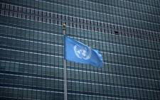 FILE: A view of the United Nations headquarters in New York. Picture: AFP