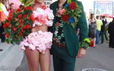 Thousands have enjoyed the good weather at the Durban July to show their latest outfits. Picture: GCIS.