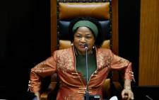 Speaker of Parliament Baleka Mbete. Picture: AFP