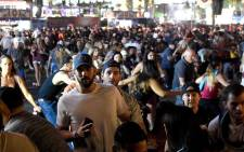 2017/10/06 Las Vegas shooting victims remembered. AFP