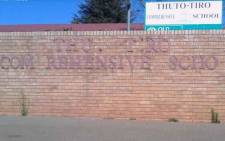 Outside the Thuto-Tiro Comprehensive High School in Sebokeng. Picture: Facebook/Thuto-Tiro Comprehensive High School.