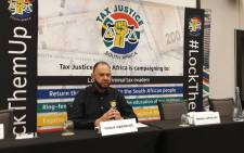 Tax Justice South Africa founder Yusuf Abramjee. Picture: @TaxJustice_SA/Twitter.