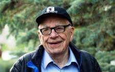 FILE: Media mogul Rupert Murdoch. Picture: AFP.