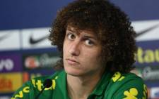 Brazilian defender David Luiz is feeling the pressure ahead of the 2014 World Cup. Picture: Facebook.com