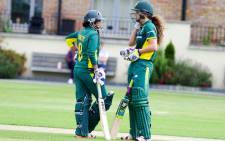 Trisha Chetty and Laura Wolvaardt set up Proteas win against Ireland in Dublin, 9 August 2016. Picture. CSA Twitter: @OfficialCSA