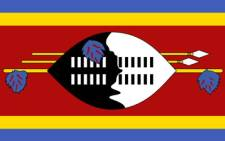 Swaziland flag. Picture: Supplied