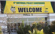 ANC Policy Conference 2012
