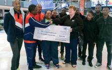 The Nelson Mandela Metropolitan University's SRC has raised more than R150,000 to help needy students. Picture: Siyabonga Sesant/EWN.