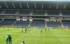 Police make progress in the case of vandalism at Orlando Stadium last week.