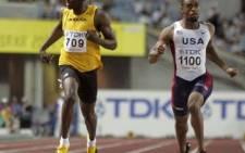 FILE: Jamaican sprinter Usain Bolt (L). Picture: AFP