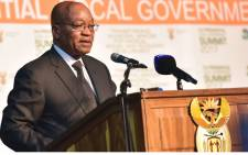 FILE: President Jacob Zuma addresses the Presidential Local Government Summit held in Midrand. Picture: GCIS