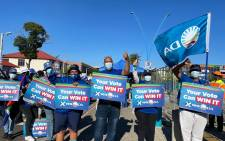"""DA supporters gather for the """"we get things done"""" rally at Mary Fitzgerald Square in Johannesburg. Picture: Twitter"""