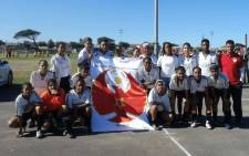 The Heideveld Female Football Academy team. Picture: Heideveld Female Football Academy/Facebook.